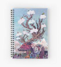 Cuaderno de espiral Espíritu de viaje (ciervos)