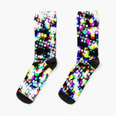 seamless halftone pattern Sock