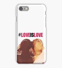 #loveislove brittana iPhone Case/Skin