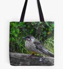 Red Wattle Bird (Anthochaera carunculata) Tote Bag
