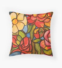 ... In bloom Throw Pillow