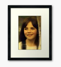 """Portrait of Aliyah ...."" Framed Print"