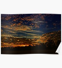 Plantation Sunrise Poster