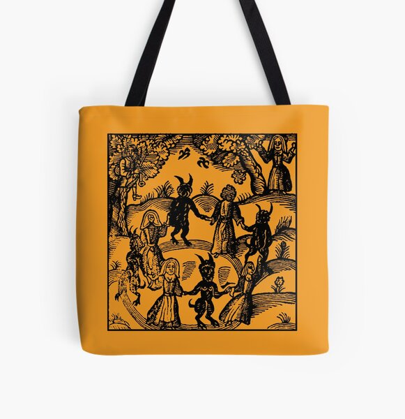 Dance with the Devil  All Over Print Tote Bag