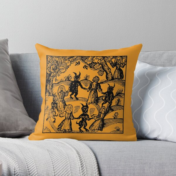 Dance with the Devil  Throw Pillow