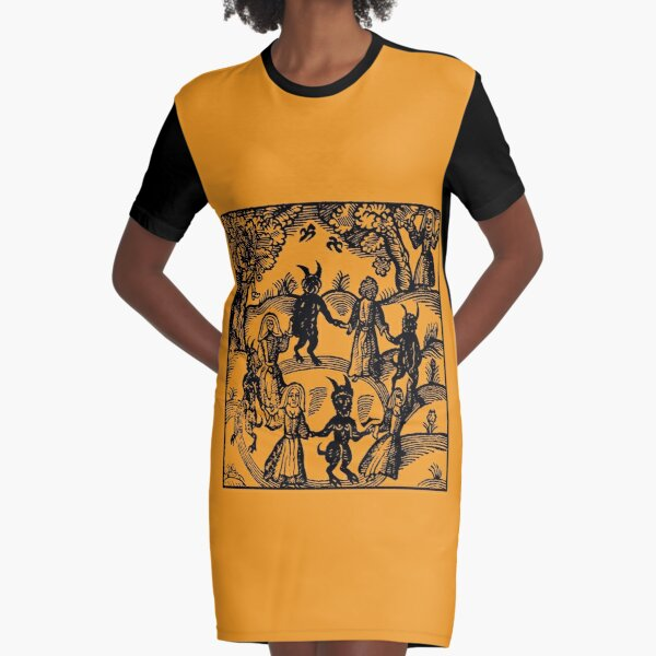 Dance with the Devil  Graphic T-Shirt Dress
