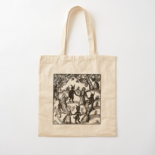 Dance with the Devil  Cotton Tote Bag