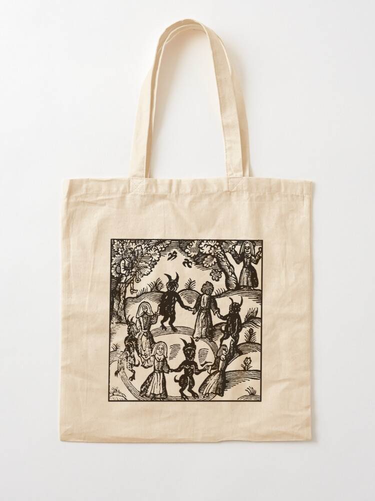 Alternate view of Dance with the Devil  Tote Bag