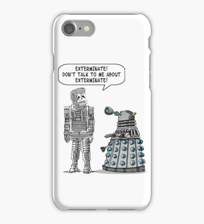 Dalek Adams 2 iPhone Case/Skin