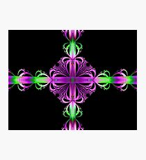 Ribbons and Bows Fractal Photographic Print