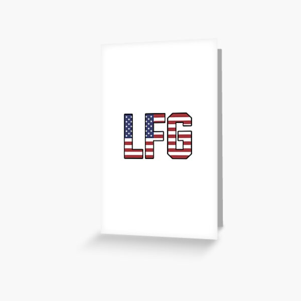 USWNT LFG Greeting Card