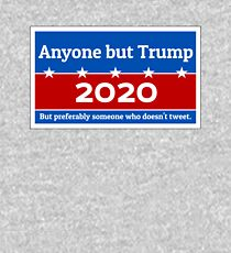 Anyone but Trump 2020 Kids Pullover Hoodie