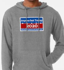 Anyone but Trump 2020 Lightweight Hoodie