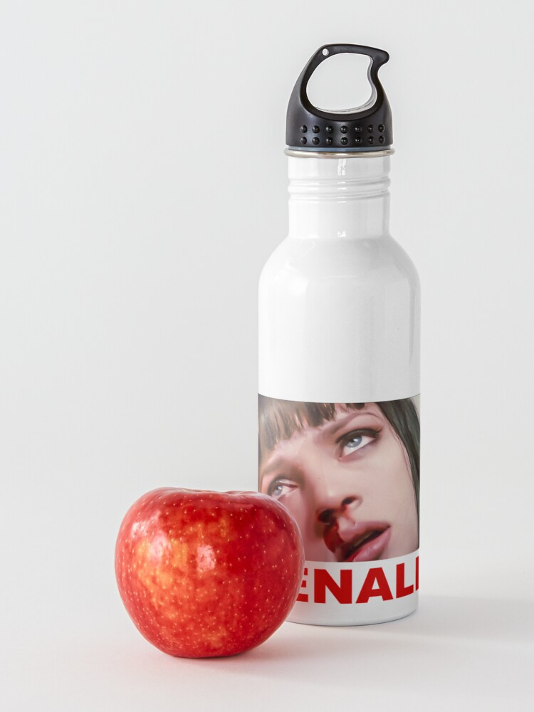Alternate view of Pulp Fiction nose bleed - ADRENALINE Clean Water Bottle