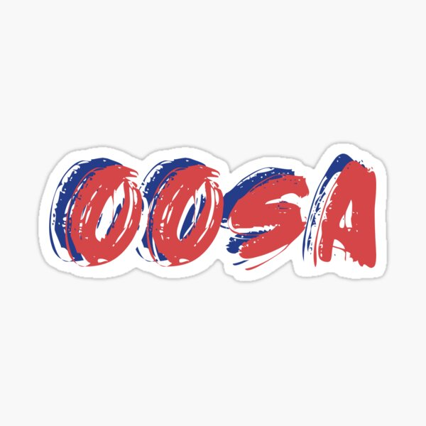OOSA Sticker