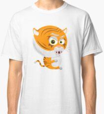 Cartoon Tiger Classic T-Shirt