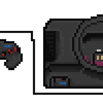 Sega Mega Drive - a true pixel classic! by Pixel-League