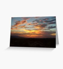 Once upon a Sunset  Greeting Card