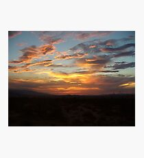 Once upon a Sunset  Photographic Print