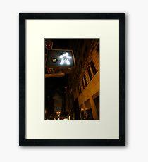 Downtown- Manhattan Framed Print