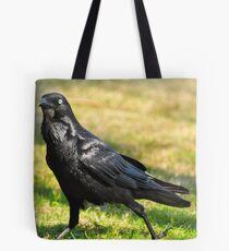 Australian Raven (Corvus coronoides) Tote Bag