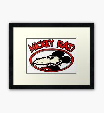 Mickey Rat Framed Print