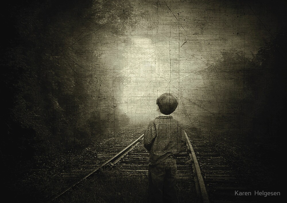Journey to the Past... by Karen  Helgesen