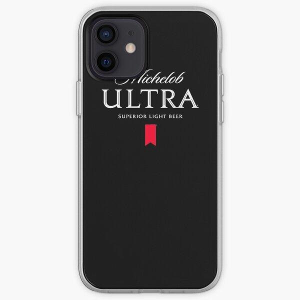 Michelob Ultra white iPhone Soft Case