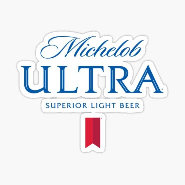 Copy of Michelob Ultra white Sticker