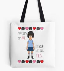 Your Butt Says Yes Tote Bag