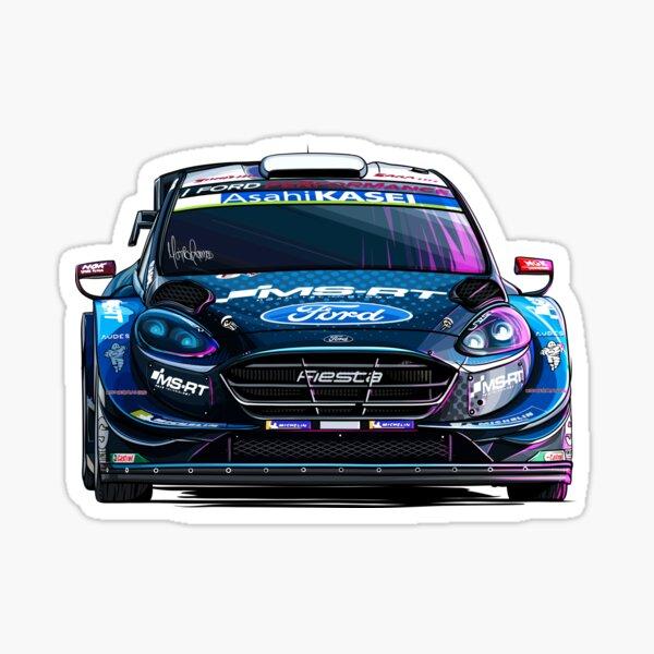 Ford Fiesta WRC (juego de 4) Pegatina