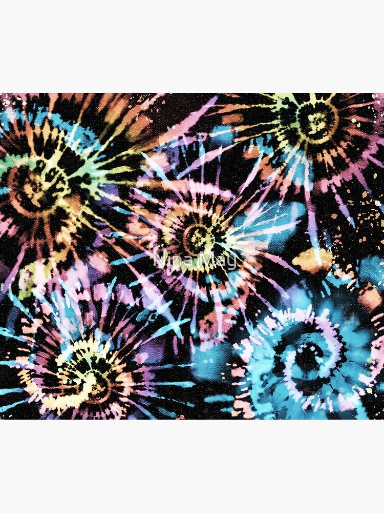 Rainbow Tie-Dye Blast by ninabmay