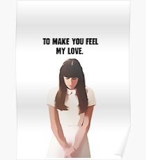 Lea Michele- Rachel Berry. Poster