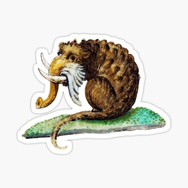 Copy of Medieval #17 - The Elephant Rat Sticker