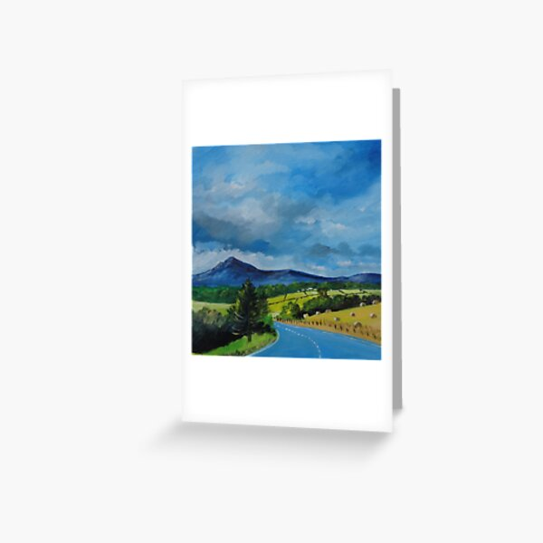 Bennachie from the Tyrebagger Greeting Card