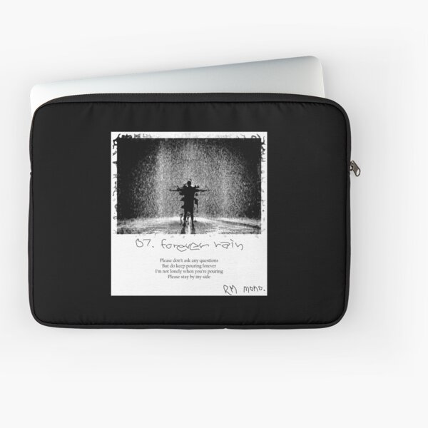 RM - Forever Rain (polaroid version) Laptop Sleeve