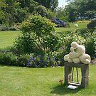 Garden Sculpture, Tichbourne Garden, NZ by johnrf