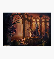 Tiger in the Tea House Photographic Print