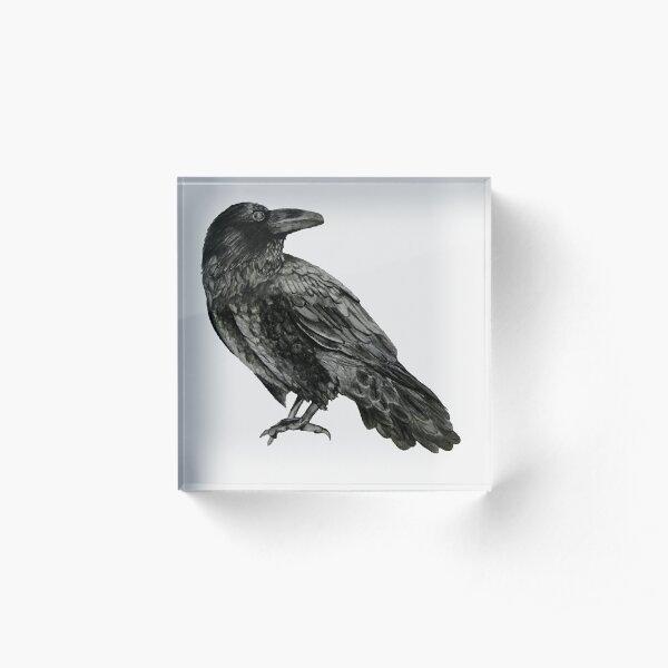 Raven Acrylic Block