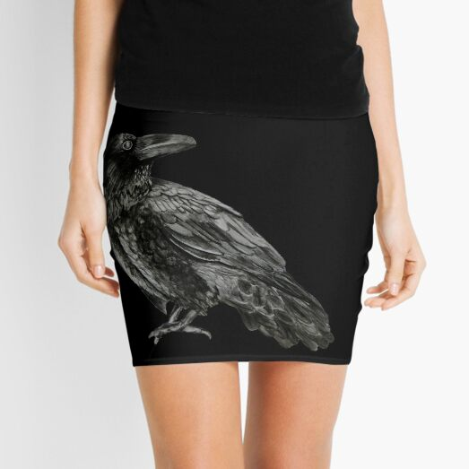 Raven Mini Skirt