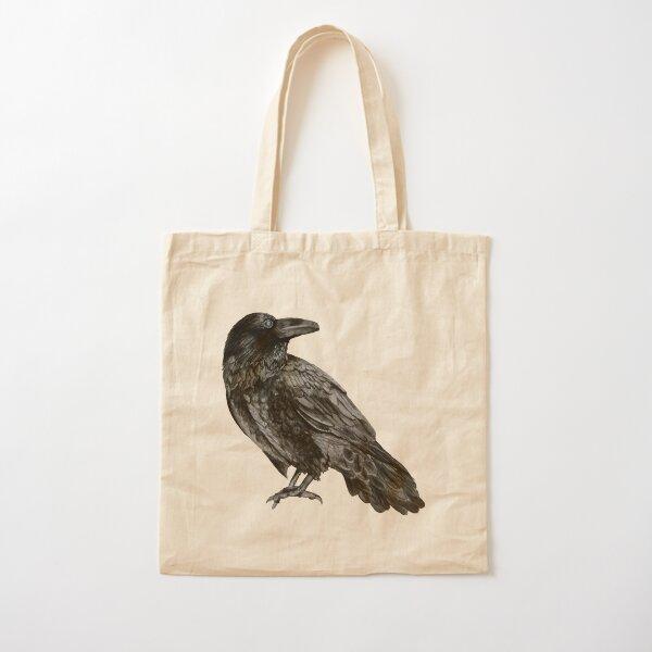 Raven Cotton Tote Bag
