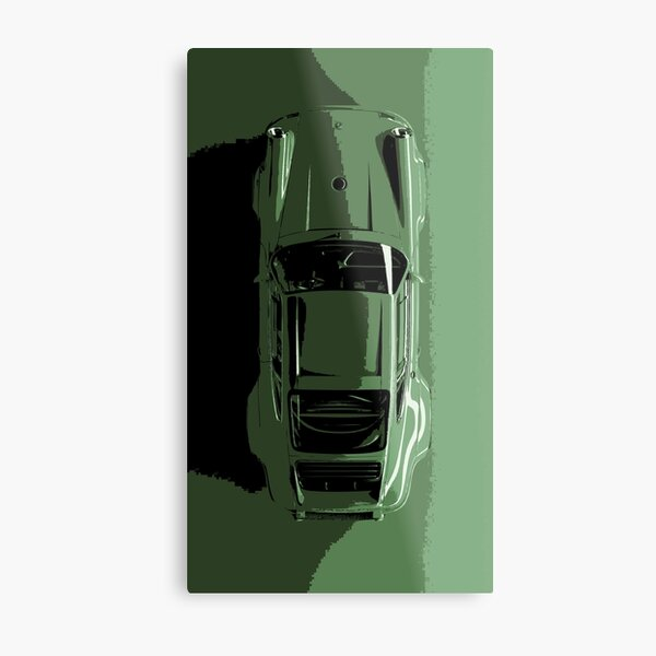 Porsche 911 reimagined by Singer and Williams Metal Print