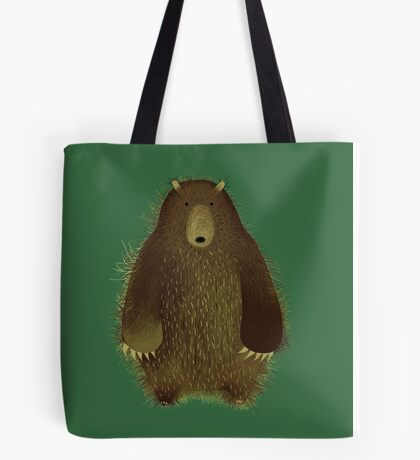 Barnsley the Big Bear. Tote Bag