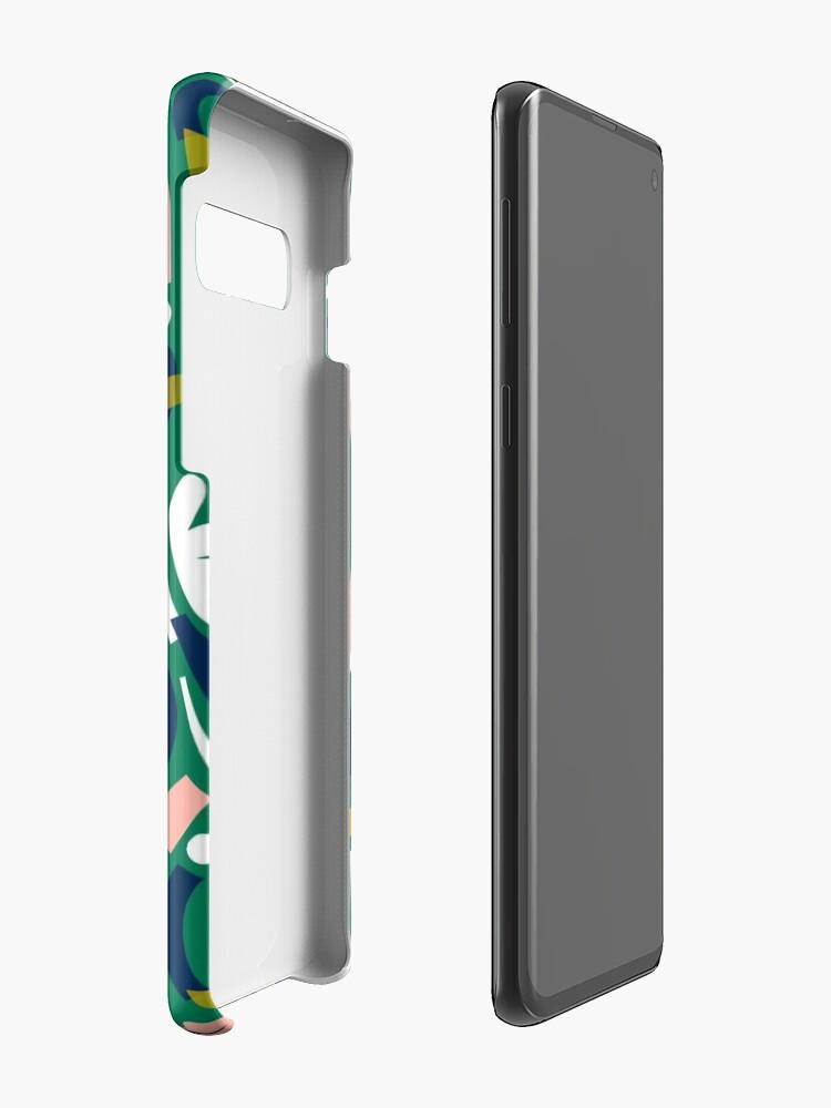 Alternate view of Flowerbed II Case & Skin for Samsung Galaxy