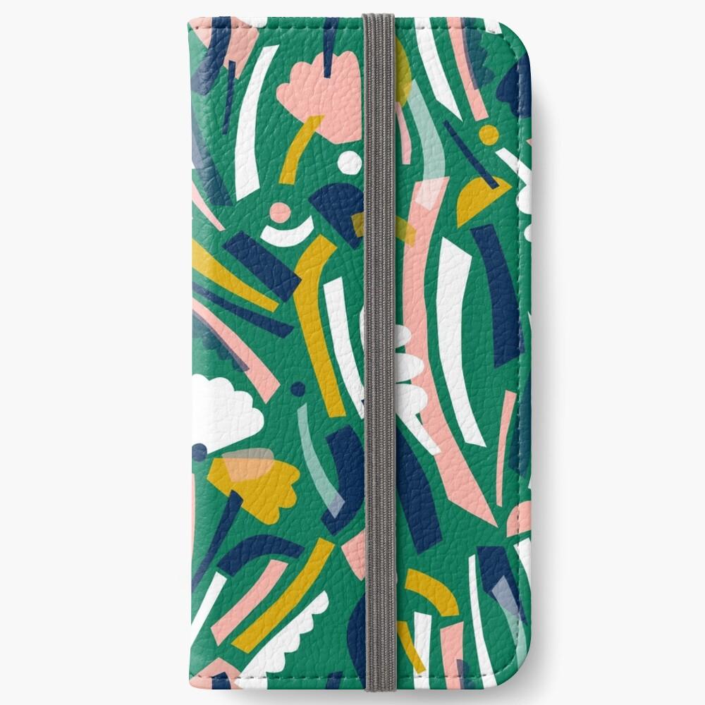 Flowerbed II iPhone Wallet