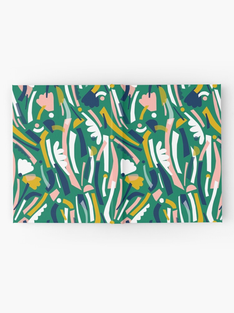 Alternate view of Flowerbed II Hardcover Journal