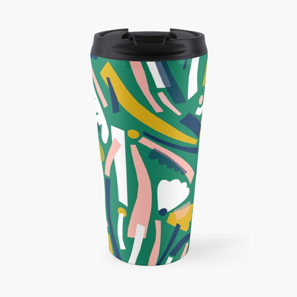 Flowerbed II Travel Mug