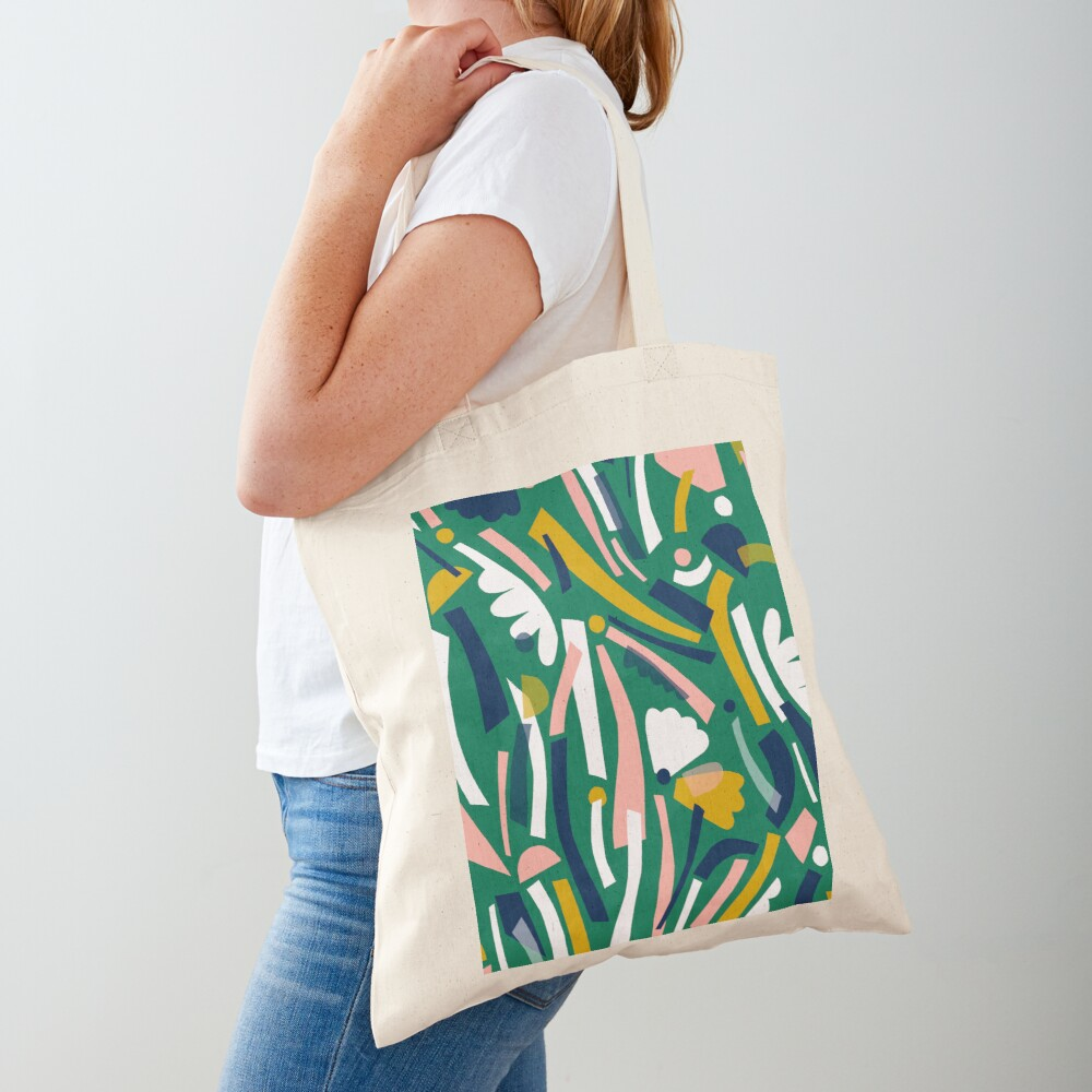 Flowerbed II Tote Bag