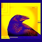Art Deco Crow by Sun Dog Montana