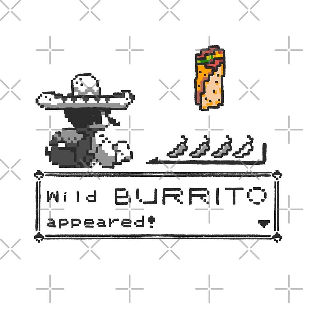 Wild Burrito appeared by rodrigobhz